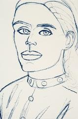 Kate, by Alex Katz