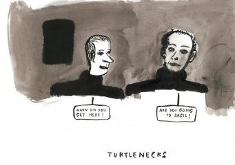 Turtlenecks, by Amy Sillman