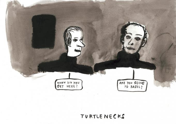 Amy Sillman, Turtlenecks