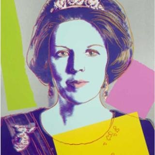 Queen Beatrix of the Netherlands Royal Edition art for sale