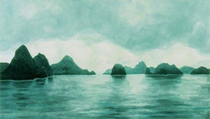 April Gornik Halang Bay art for sale