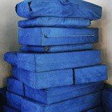Barney Kulok, Blue Pillows (Ha&#39;Ari Sephardi Shul, Zfat)
