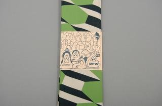 Bandana: Green Pattern, by Barry McGee