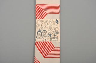 Bandana: Red Lines, by Barry McGee
