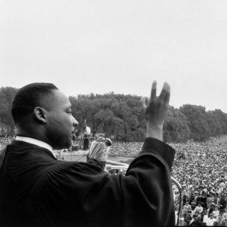Washington DC. Prayer Pilgrimage for Freedom, May 17, 1957. Martin Luther King speaking to the crowds. art for sale