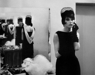 France. Life Fashion Story. Model. 1960., by Burt Glinn
