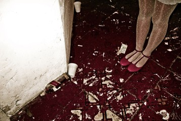 Camila Rodrigo Graa Red Shoes, from the series Simulacrum, 2007 art for sale