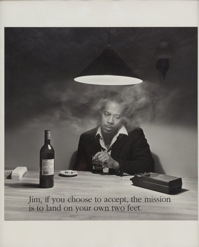 Carrie Mae Weems, Jim, if you choose to accept...
