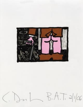 Untitled, by <a href='/site-admin/artists/artist/381'>Carroll Dunham</a>