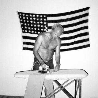 Chico Aragao, James Rosenquist Ironing His Trousers