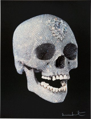 For the Love of God, by <a href='/site-admin/artists/artist/483'>Damien Hirst</a>