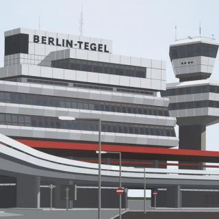 Berlin Tegel art for sale
