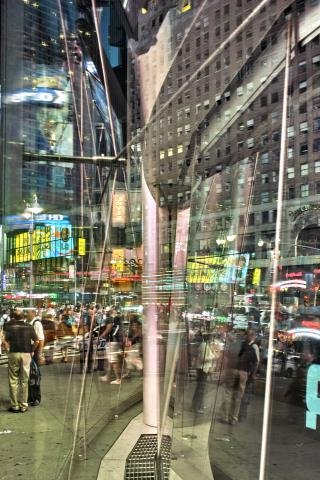Attempt: 05/24/2010 20:29:51 (Times Square), by <a href='/site-admin/artists/artist/54'>David Brown</a>