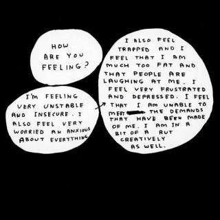 Untitled (How are you feeling?), by David Shrigley