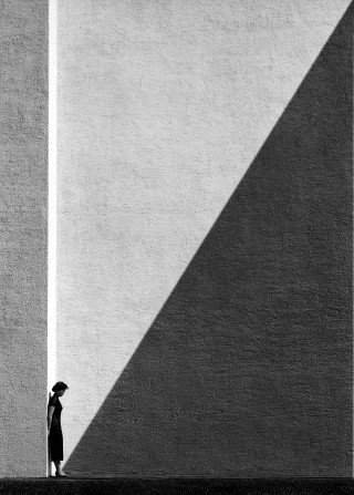 Fan Ho Approaching Shadow art for sale