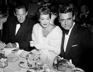 Cary Grant, Jane Wyman, and William Holden, by Frank Worth