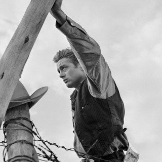 "James Dean Hand on Post Set of ""Giant"" art for sale"