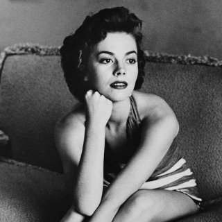 Frank Worth, Natalie Wood Classic Portrait