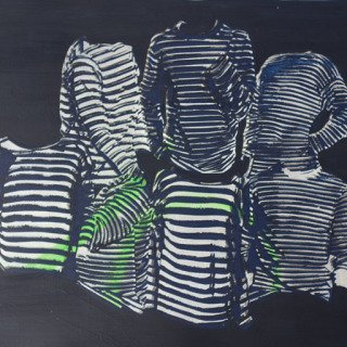 Striped Pose art for sale