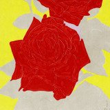 Gary Hume, Two Roses
