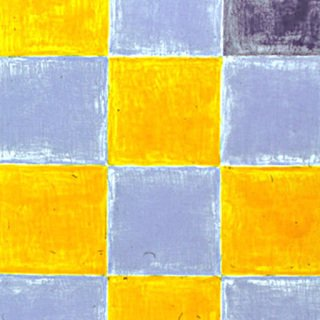 Gnther Frg, Untitled (Blue/Yellow Squares)