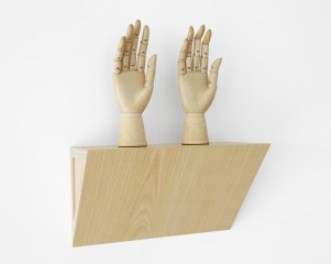 Untitled (female mannequin right hands), by &lt;a href=&#39;/site-admin/artists/artist/471&#39;&gt;Haim Steinbach&lt;/a&gt;