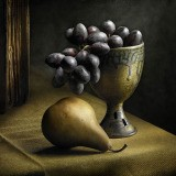 Harold Ross, Still Life with Grapes