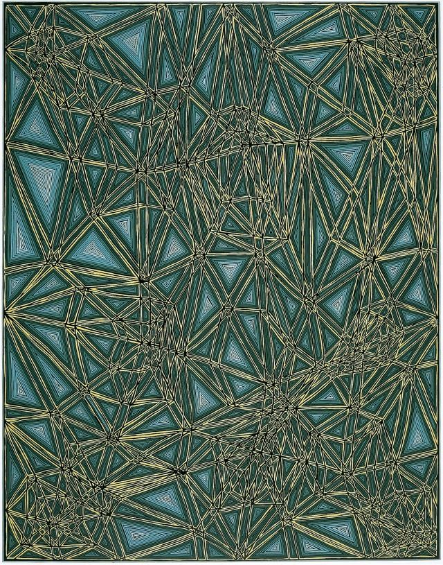 James Siena, Shifted Lattice