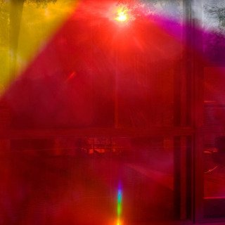 James Welling, 9818 (Glass House)