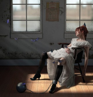 Jamie Baldridge Perils of Lepidoptery art for sale