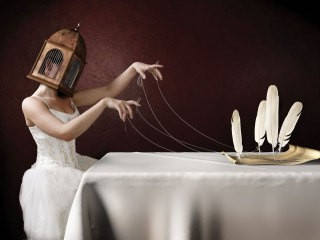 Ten Penny Prophet, by <a href='/site-admin/artists/artist/806'>Jamie Baldridge</a>