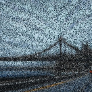 GWB from 125th (DAY) art for sale