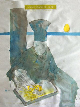 Blue Chef, by Jay Batlle