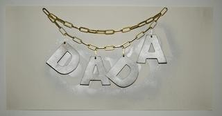 DADA NECKLACE, by Jonathan Monk