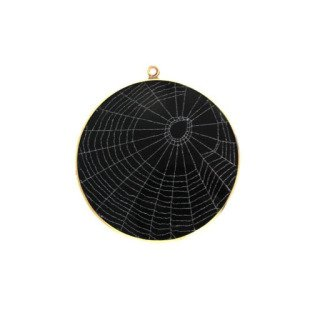 Spider Web Pendant art for sale