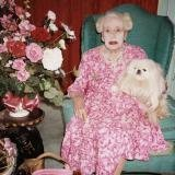 Juergen Teller, Dame Barbara Cartland, Herfordshire