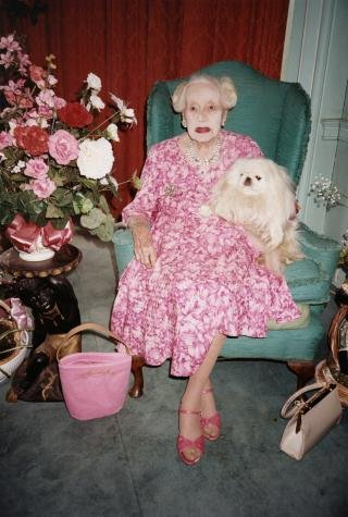 Juergen Teller Dame Barbara Cartland, Herfordshire art for sale
