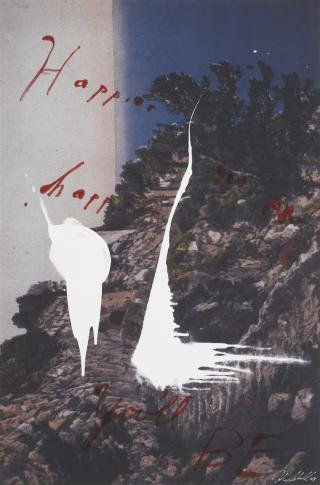 Julian Schnabel Happier You Are…Happier You'll Be art for sale