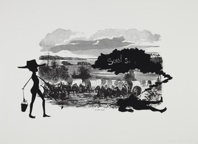 Kara Walker, Harper's Pictorial History of the Civil War (Annotated), Scene of McPherson's Death