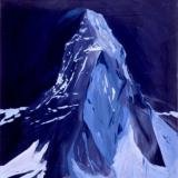 Karen Kilimnik, The Matterhorn At Night, Dreamland, 9pm, 3am, Zermatt