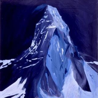 The Matterhorn At Night, Dreamland, 9pm, 3am, Zermatt art for sale