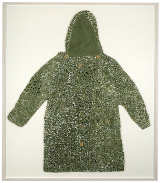 Laura Craig McNellis Untitled (Green Camouflage Coat) art for sale