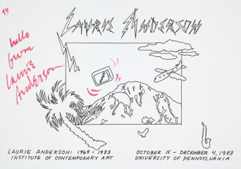 Laurie Anderson Untitled art for sale