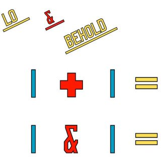 Lo & Behold, by Lawrence Weiner