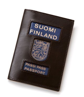 Suomi Finland Passi Port Passport, by Lawrence Weiner