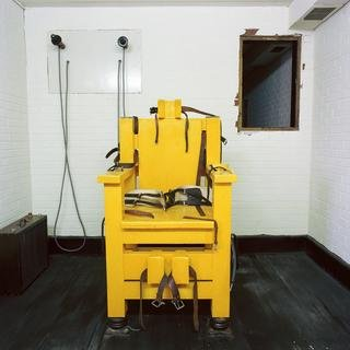 Electric Chair, Holman Unit, Atmore, Alabama art for sale