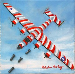 Bomb Run, by Malcolm Morley