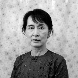 Aung San Suu Kyi; Yangon, Burma, 21 March art for sale
