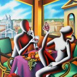 Mark Kostabi, The Naked Lunch
