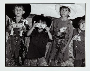 Young Bull Riders, by <a href='/site-admin/artists/artist/460'>Mary Ellen Mark</a>